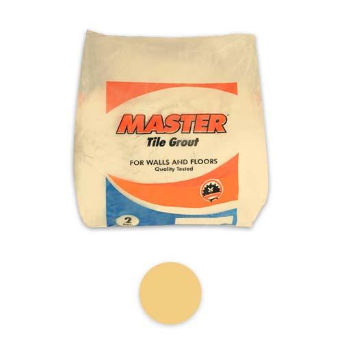 MASTER Description: Tile Grout  With microban Content: 2kg Color: Dark Beige