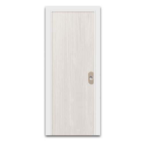 POLYWOOD Description: PVC Door Sizes: 60 x 210cm, 70 x 210cm Code: Plain White Oak