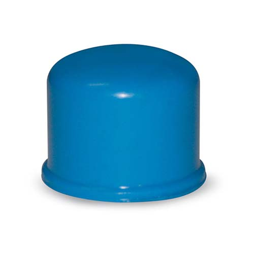 """EMERALD PVC Blue Caps Available in:  - ½"""" - ¾"""""""
