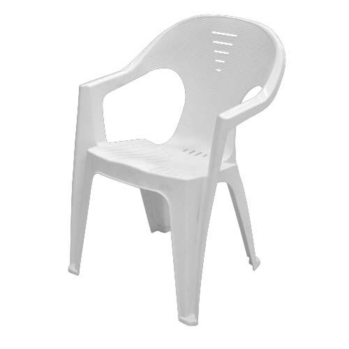 IDEA Description: Monoblock Chair Color: White Code: 114510 Riviera