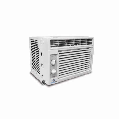 "BOSTON BAY Description: Air Conditioner 0.5 HP Voltage: a.c. 230V, 60Hz, ""T"" Cooling capacity: 5000Btu/h Rated current: 3.3A Rated power: 650W Code: MWF-05CM-NB7"