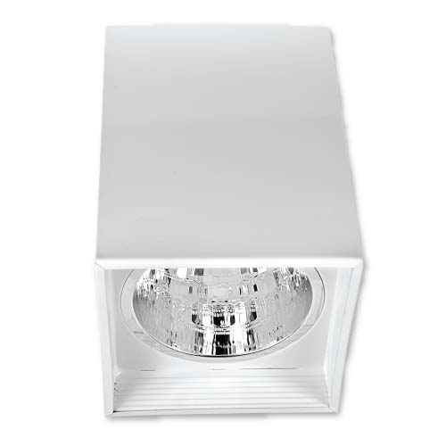 ZIGMA Description: Surfaced Downlight Sizes: 116 x 160mm and  136 x 191mm Socket: E27  Color: White Bulb capacity: 1 pc. (not included)