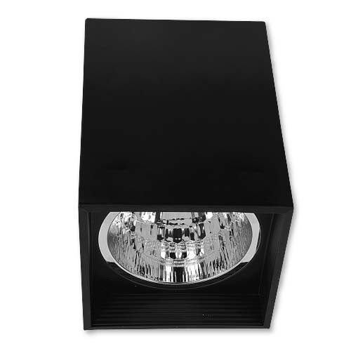 ZIGMA Description: Surfaced Downlight Sizes: 116 x 160mm and  136 x 191mm Socket: E27  Color: Black Bulb capacity: 1 pc. (not included)