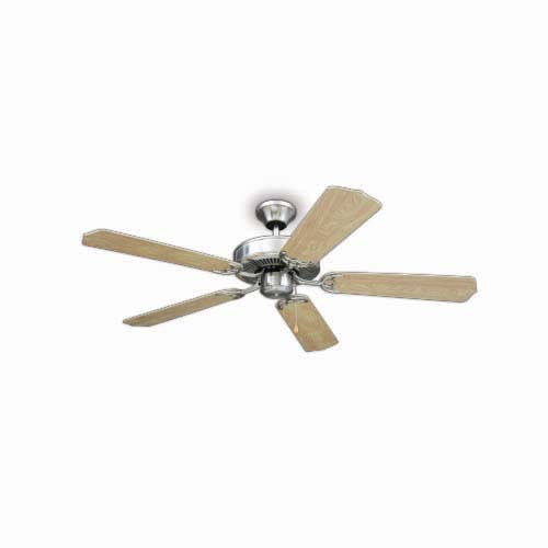 BOSTON BAY Decorative Ceiling Fan •52 in • 5 pcs. plywood blade • 3 Speed pull chain Code: 5BD52BN Marquette