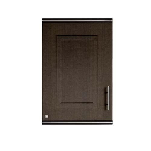 KING Hang Cabinet • Pearl series • Single door •ABS •Dark oak • 45 x 34 x 68cm