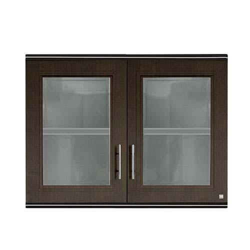 KING  Hang Cabinet • Zircon series • Double door • ABS • Dark oak • 90 x 34 x 68cm
