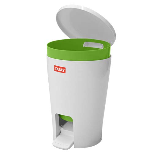 TATAY Description: Bathroom Bin Capacity: 5L Color: Diabolo Lime Code: 4434913