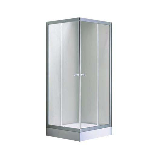 RAVONI Description: Shower Enclosure Size: 900 x 900 x 1950mm Thickness: 4mm Code: KDL-L1053