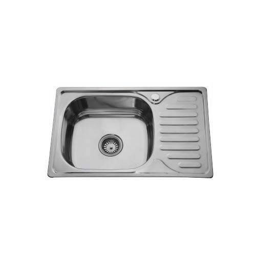 BREMEN Sink • With strainer • Stainless steel 202 • 660 x 120mm • 0.6mm thickness • 180mm depth Code: ST6642R