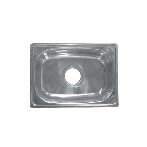 BREMEN Sink • With strainer • Stainless steel 201 • 480 x 350mm •  0.7mm thickness • 169mm depth Code: JS 4835