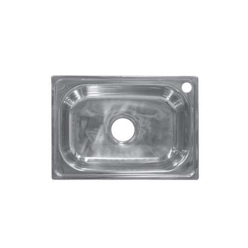 BREMEN Sink • With strainer • Stainless steel 201 • 520 x 380mm • 0.7mm thickness • 176mm depth Code: JS 5238