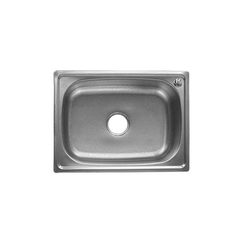 BREMEN Sink  • With Strainer • Stainless steel 201 • 600 x 450mm • 0.7mm thickness • 195mm depth Code: JS 6045