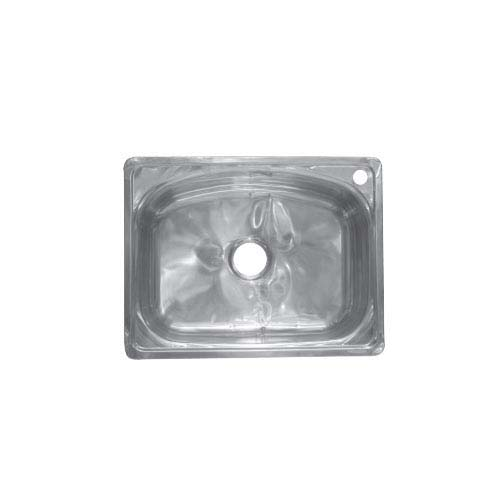 BREMEN Sink  • With strainer • Stainless steel 201 • 620 x 480mm •  0.7mm thickness • 185mm depth Code: JS 6248