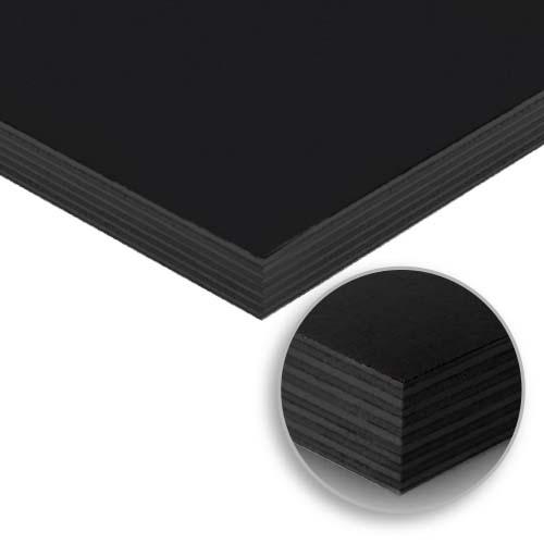 WOODTEK Form Ply • Black film face Sizes:  - 12 x 1220 x 2440 mm - 18 x 1220 x 2440 mm