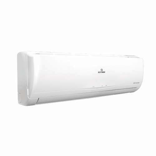 "BOSTON BAY Description: Split Type Air Conditioner Inverter Voltage: a.c. 230V, 60Hz, 1Ph ""T"" Rated power: 1610W Rated current: 7A Cooling capacity: 9000 Btu/h Code: MSAB-09CR Also available: 1.5 HP MSAB-12CR 2 HP MSAB-18CR 2.5 MSAB-22CR"