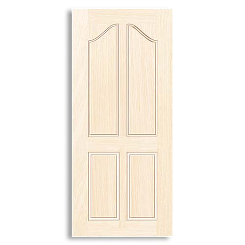 DESIGNCRAFT Moulded Door • Prime coated finish with MDF wood strip core •  35 mm thickness • Dravotti Sizes:  - 70 x 210 cm - 80 x 210 cm - 90 x 210 cm