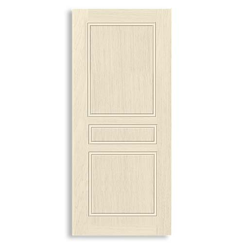 DESIGNCRAFT Moulded Door  • Prime coated finish with MDF wood strip core • Siam Sizes:  - 70 x 210 cm - 80 x 210 cm - 90 x 210 cm
