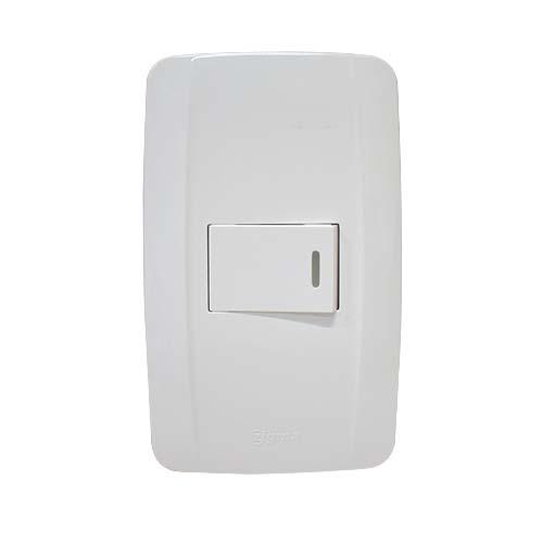 ZIGMA 1-Gang 2-Way Switch •Medium series • Faceplate with fluorescent Code: ZMSS201