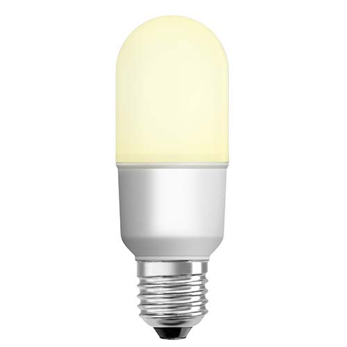 OSRAM LED Stick Bulb • E27 • Warm white (2700K) Available in:  - 7W - 12W