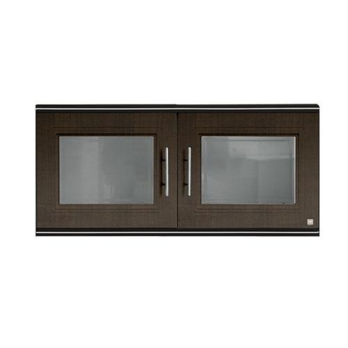 KING Hang Cabinet • Zircon series •Half • Double door • Dark oak • 90 x 34 x 42cm