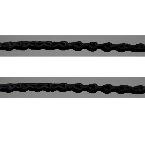 LINK Description: Single Jack Short Type Chain For decorative Size: 2mm x 100m Color: Black