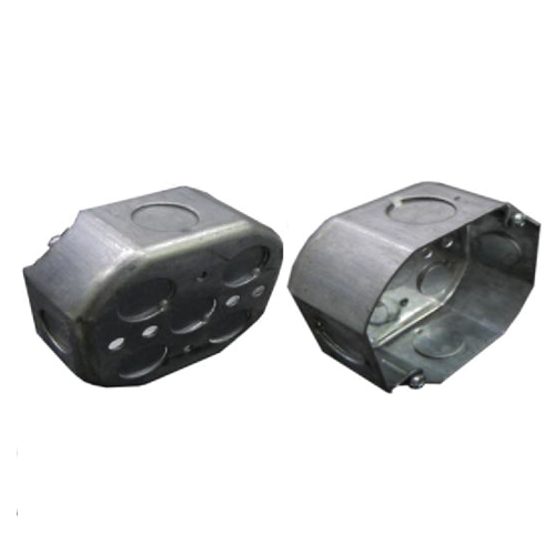 Octagon Drawn Box • 4 in. • 1.2 mm thickness Code: 54151