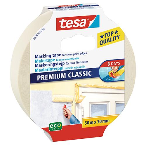 TESA Description: Classic Masking Tape Size: 50m x 30mm Code: 05282