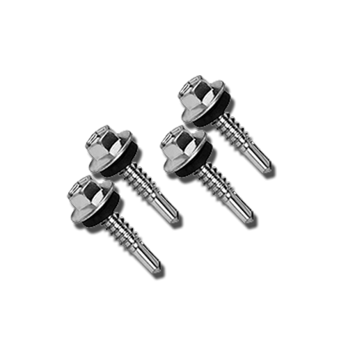 HAUSMANN Hex Screw  • For metal • 25 pcs. Available in: - #12 x 25mm - #12 x 35mm - #12 x 45mm - #12 x 55mm - #12 x 65mm - #12 x 75mm
