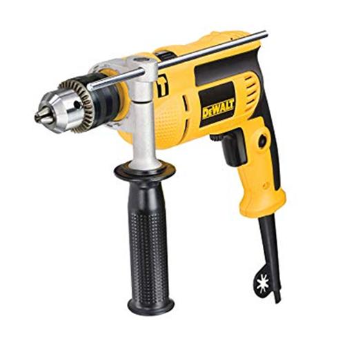DEWALT Impact Drill • Includes tool kit • 550W No load spread: 0-2800/min Chuck capacity: 1-10 mm Code: DWD022K