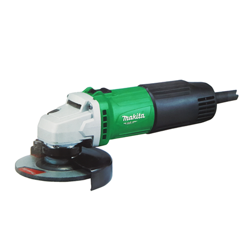 MAKITA Description: Angle Grinder (Slide) Double insulated Power: 540W Wheel diameter: 100mm Spindle thread: M10 No load speed: 12000rpm