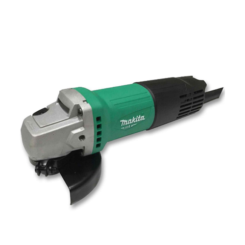 MAKITA Description: Angle Grinder (Toggle) Double insulated Power: 540W Wheel diameter: 100mm Spindle thread: M10 No load speed: 12000rpm