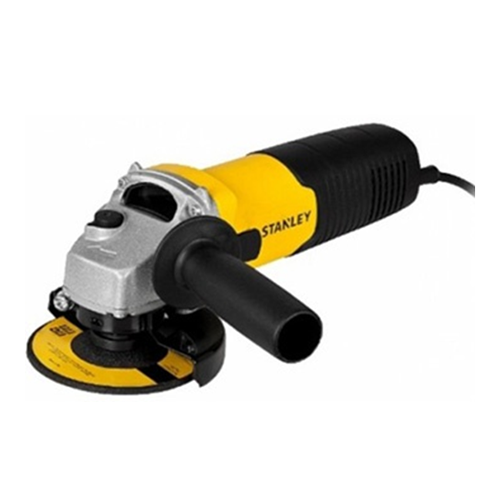 STANLEY Description: Angle Grinder Power: 580W Material: Metal Diameter blade: 100mm No load speed: 12,000 rev/min Wire cup brush diameter: 70mm Cable length: 2m