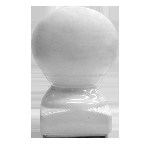 Description: Head Pole Material: Ceramic Color: White Code: Moon
