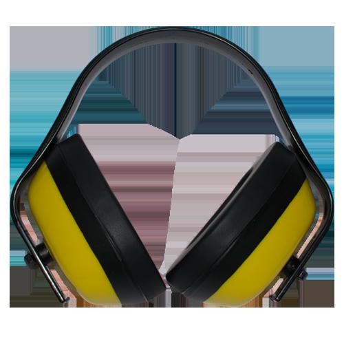 SOTER Ear Muffs • Features: - 25 DB NRR (Noise Reduction Rating) - Adjustable cups for better fitting • Material: - ABS (Acrylonitrile butadiene styrene) shell - POM (Polyoxymethylene) frame Code: STR-EM1