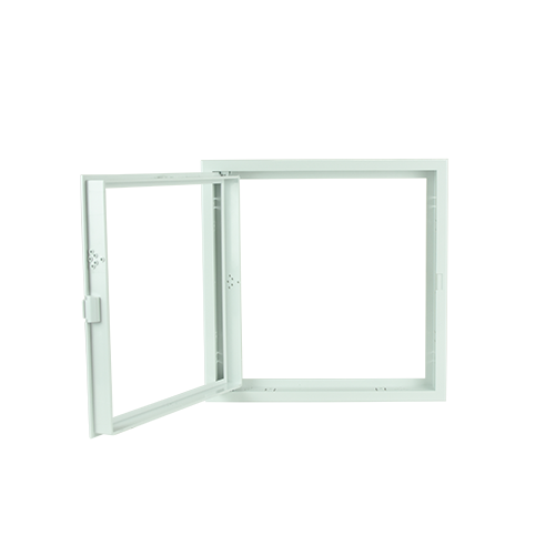 POLYWOOD White Open Type Ceiling Access Panel •300 mm x 300 mm •fit in various ceiling types •ABS Material, durable Code: CPS1219