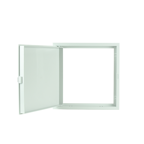 POLYWOOD White Close Type Ceiling Access Panel •300 mm x 300 mm •fit in various ceiling types •ABS Material, durable Code: CPS1219