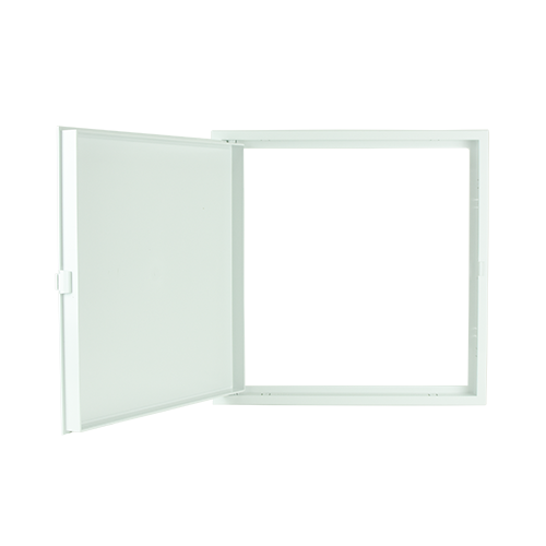 POLYWOOD White Close Type Ceiling Access Panel •400 mm x 400 mm •fit in various ceiling types •ABS Material, durable Code: CPS1219