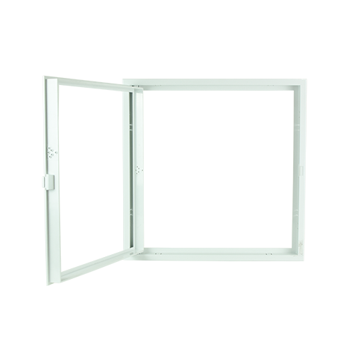 POLYWOOD White Open Type Ceiling Access Panel •400 mm x 400 mm •fit in various ceiling types •ABS Material, durable Code: CPS1219