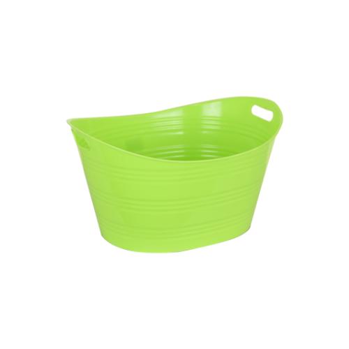 STACK Plastic Bucket - Green • 41cm X 53.2cm X 20cm • Easy to clean • Multipurpose storage bucket Code: CITIIB0027