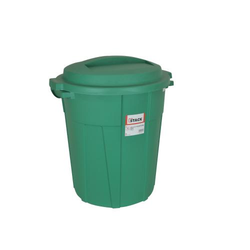 STACK Multi-purpose Bin • Green • 60 liter capacity • UV resistant materials • Made of heavy duty plastic Code: RBC819-0060