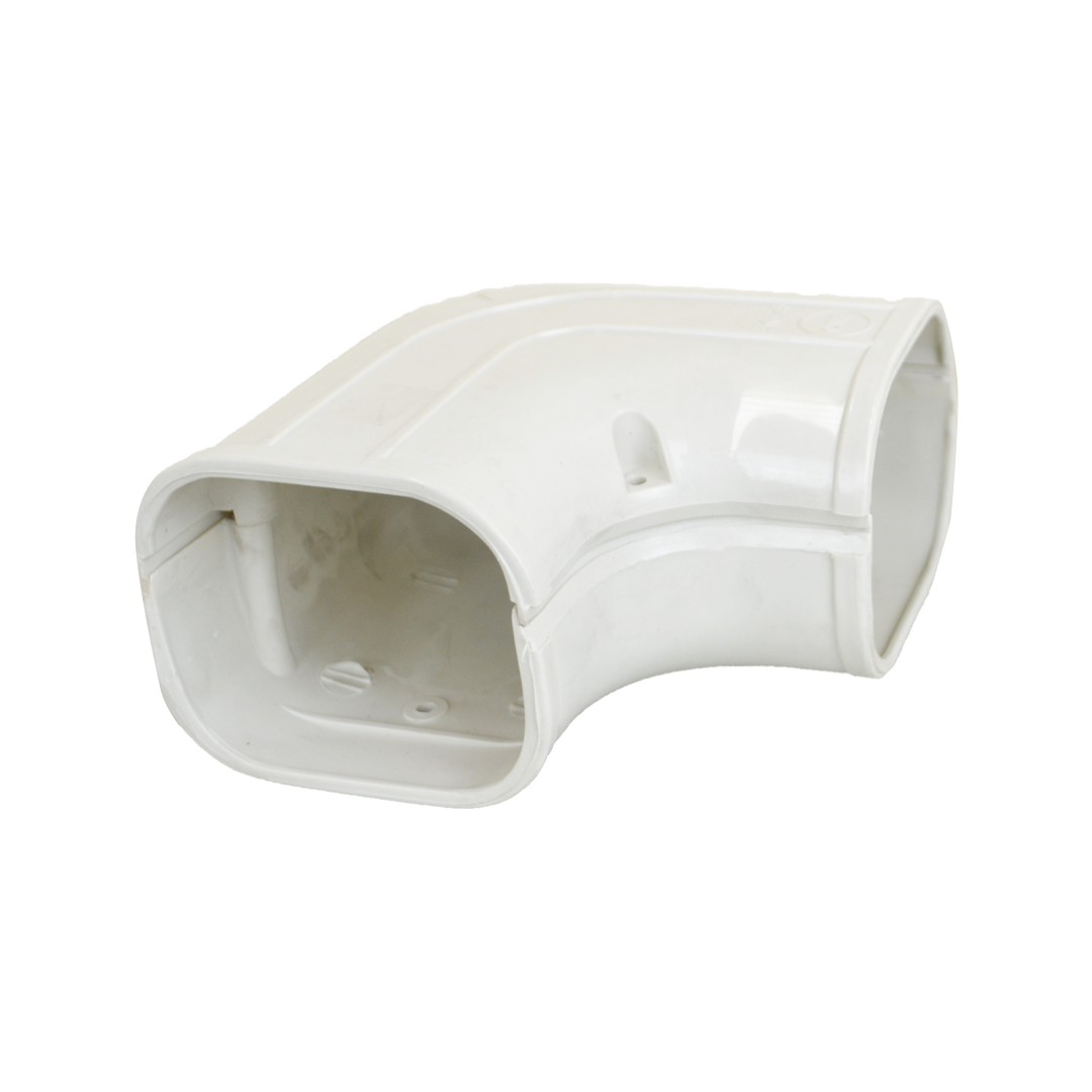 BOSTON BAY SK-75 75mm Elbow  • High quality ABS Plastic, Easy to connect and install • Leakproof • Suitable for use with aircon / heat pump duct • Strong durable construction will not crack or shatter when you drill or cut it