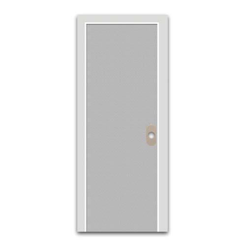 POLYWOOD PVC Door •Plain • Granite Sizes:  - 60 x 210 cm - 70 x 210 cm