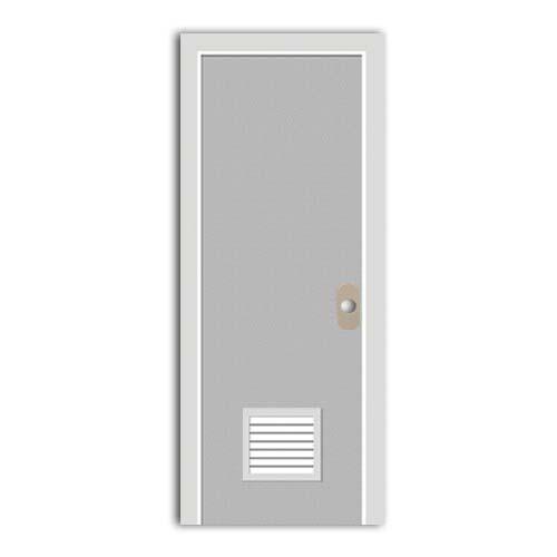 POLYWOOD PVC Door • With louver • Granite Sizes:  - 60 x 210 cm - 70 x 210 cm