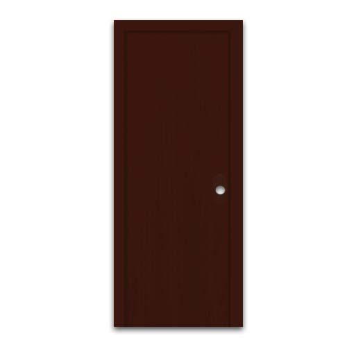 POLYWOOD PVC Door • Plain  • Dark oak Code: 809  Sizes:  - 60 x 210 cm - 70 x 210 cm