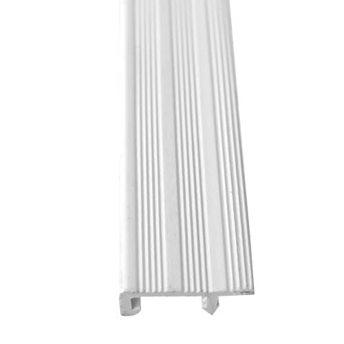 MASTER Description: Stair Nosing Material:  PVC Size: 40mm x 3m Color: White Code: SS-02