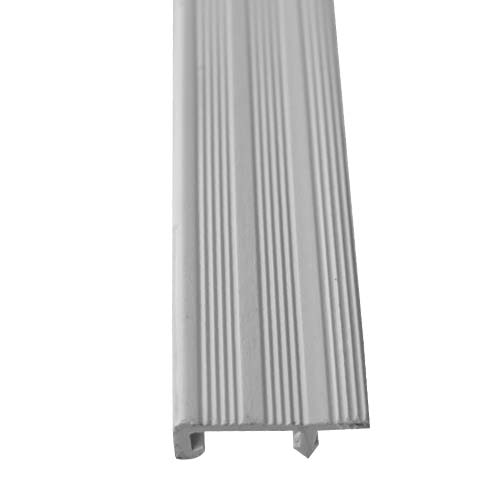 MASTER Stair Nosing • PVC • Grey Size: 40 mm x 3 m Code: SS-08