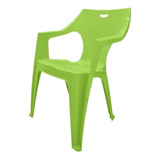 IDEA Description: Monoblock Chair  Color: Lime Code: Kreta