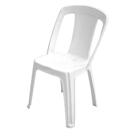 IDEA Description: Monoblock Chair Color: White Code: 12516 Elba