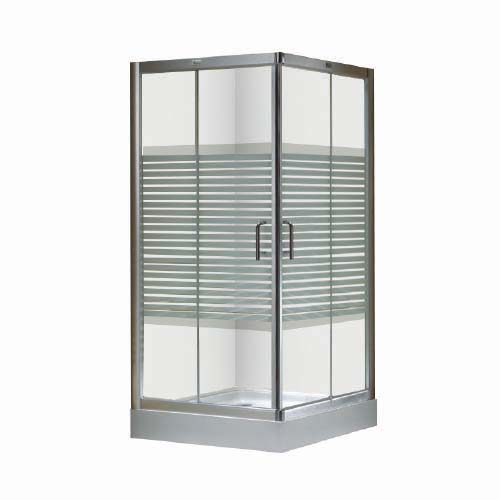 RAVONI Shower Enclosure • 6 mm tempered glass Size: 900 x 900 x 2000 mm Code: L2481