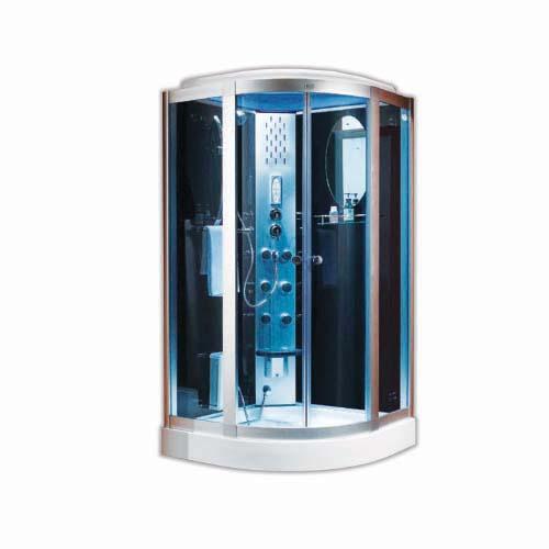 RAVONI Description: Steam Shower Room Size: 1050 x 1050 x 2160mm Steam generator: 3000W Code: CF2105B